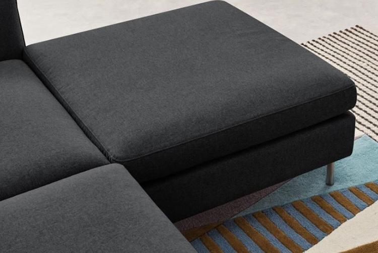Hình ảnh Ghế sofa nỉ chụp chi tiết cho bạn cái nhìn thật nhất về sản phẩm