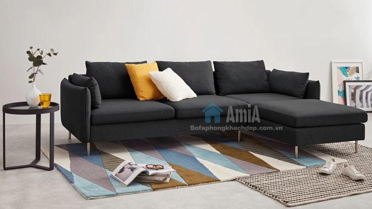 Hình ảnh Ghế sofa nỉ phòng khách đẹp hiện đại và sang trọng