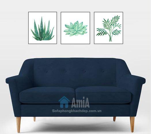Hình ảnh Ghế sofa văng nhỏ xinh thiết kế 2 chỗ và kiểu dáng hiện đại, trẻ trung