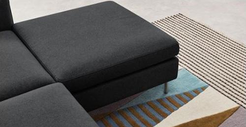 Hình ảnh chi tiết mẫu ghế sofa nỉ phòng khách đẹp gia đình