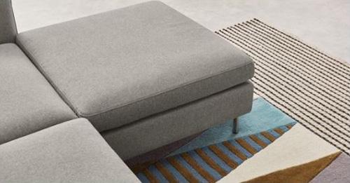 Hình ảnh chi tiết sofa nỉ phòng khách đẹp cho căn phòng hiện đại