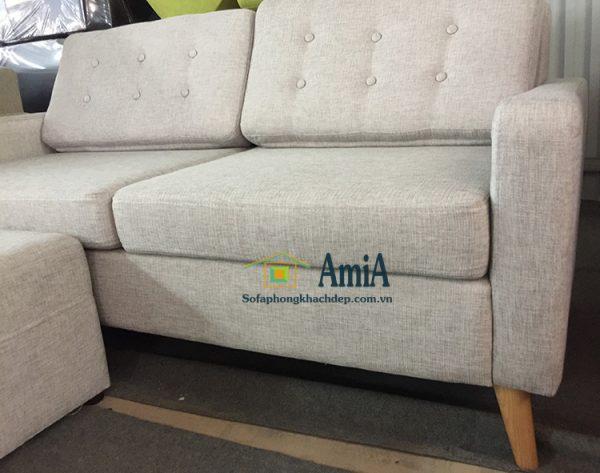 Hình ảnh sofa văng nỉ phòng khách 2 chỗ đẹp hiện đại tại AmiA