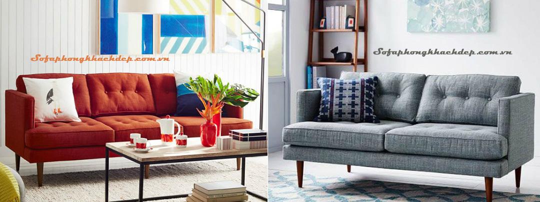Hình ảnh mẫu sofa nỉ văng đẹp cho phòng khách gia đình