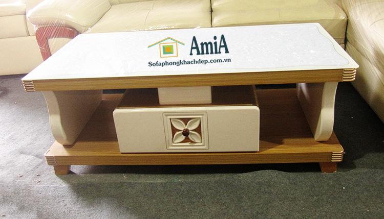Hình ảnh Bàn trà đẹp tại Hà Nội thiết kế hiện đại cho bộ ghế sofa phòng khách
