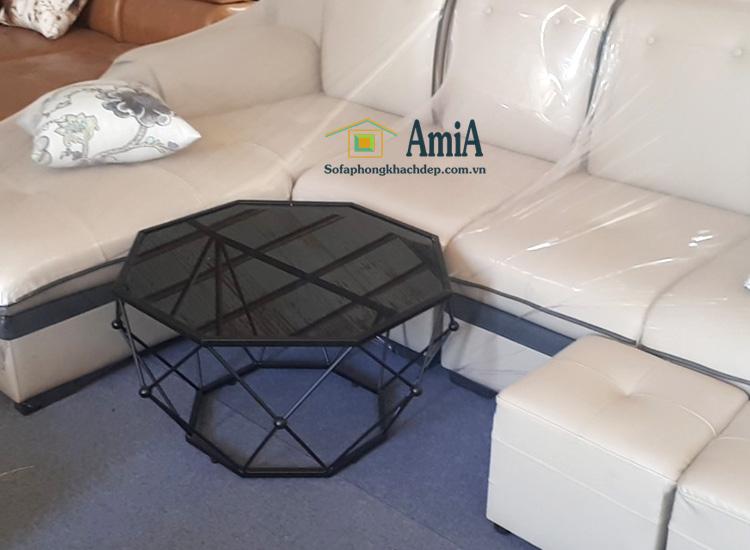 Hình ảnh Bàn trà sofa đẹp lục giác là thiết kế mới rất độc đáo