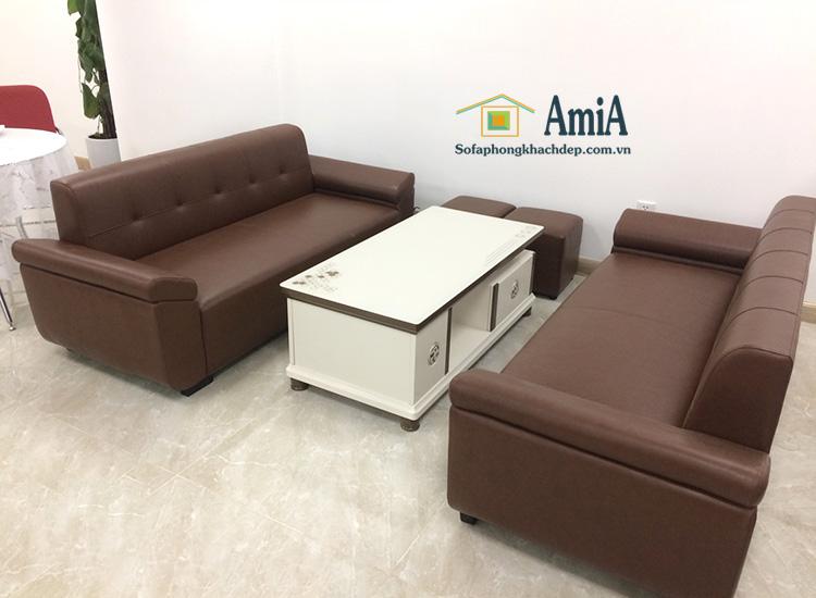 Hình ảnh Bàn trà sofa giá rẻ Hà Nội cho không gian phòng làm việc