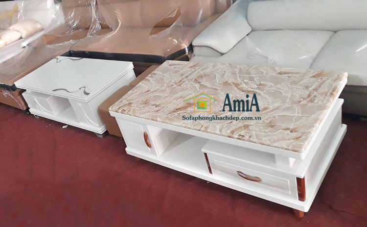 Hình ảnh Bàn trà sofa nhập khẩu với hình ảnh thực tế tại Kho AmiA