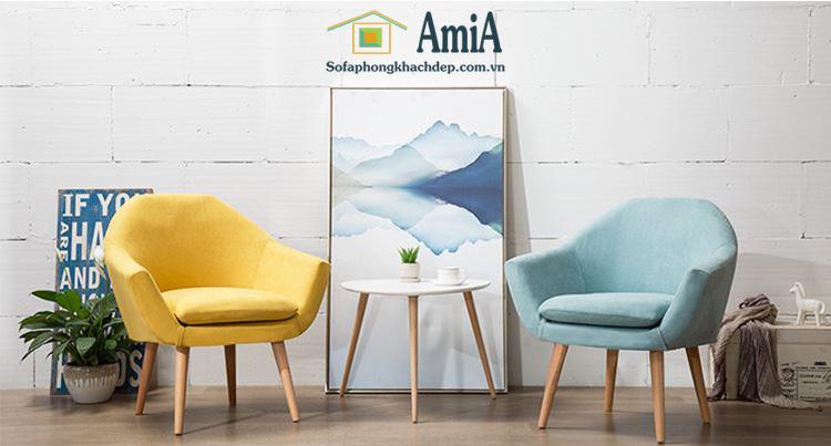 Hình ảnh mẫu Bàn trà sofa nhỏ xinh cho ghế sofa đơn nhỏ xinh