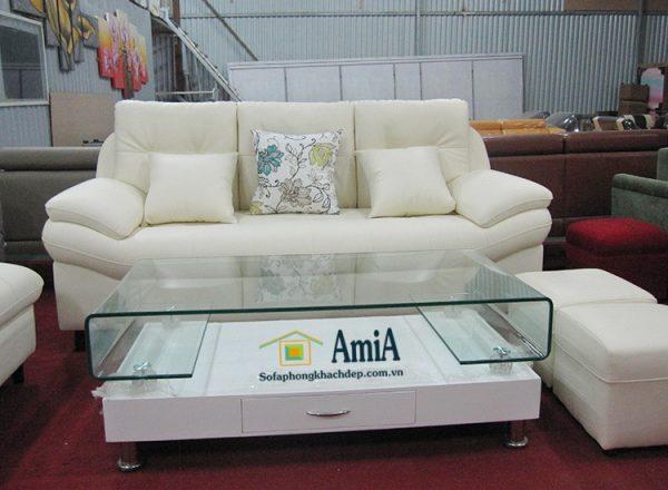 Hình ảnh Bộ ghế sofa văng đẹp cho phòng khách hình ảnh chụp thực tế tại Tổng kho AmiA