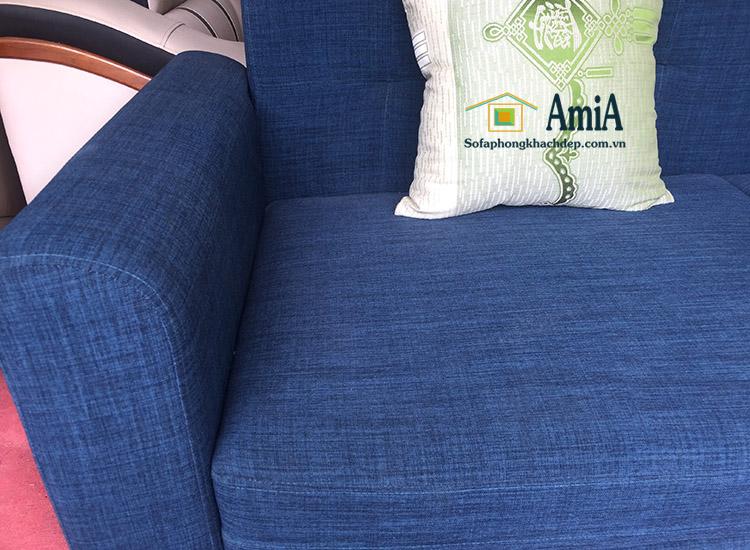 Hình ảnh Chi tiết ghế sofa văng nhỏ xinh cho phòng khách nhỏ, nhà nhỏ