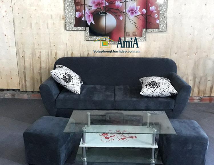 Hình ảnh Mẫu ghế sofa nhỏ mini đẹp xinh cho phòng khách nhỏ hiện đại