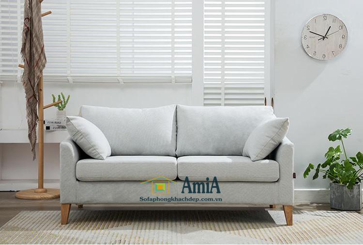 Hình ảnh Ghế sofa văng đẹp 2 chỗ thiết kế đơn giản mà đẹp cho phòng khách