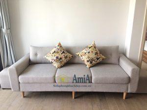 Hình ảnh Mẫu ghế sofa văng đẹp 3 chỗ thiết kế hiện đại và trẻ trung