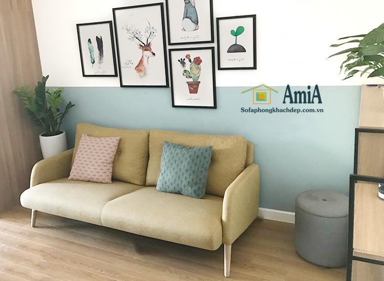 Hình ảnh Ghế sofa văng đẹp hiện đại thiết kế 2 chỗ kích thước nhỏ xinh