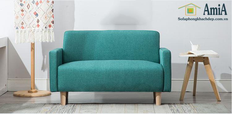 Hình ảnh Ghế sofa văng đẹp thiết kế đơn giản nhỏ xinh cho nhà nhỏ, phòng khách nhỏ