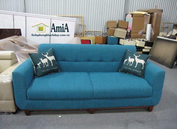Hình ảnh Mẫu ghế sofa văng nỉ đẹp cho phòng khách gia đình