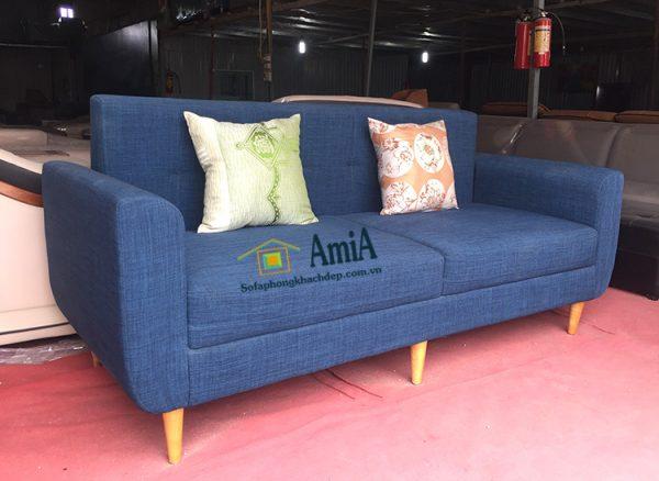 Hình ảnh Ghế sofa văng nỉ đẹp hiện đại kích thước nhỏ xinh cho nhà chung cư