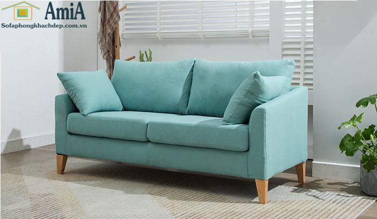 Hình ảnh Ghế sofa văng nỉ đẹp kích thước nhỏ cho phòng khách nhỏ xinh