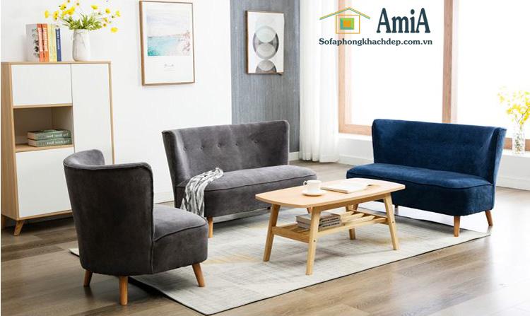 Hình ảnh các mẫu sofa văng đẹp bài trí trong phòng khách hiện đại