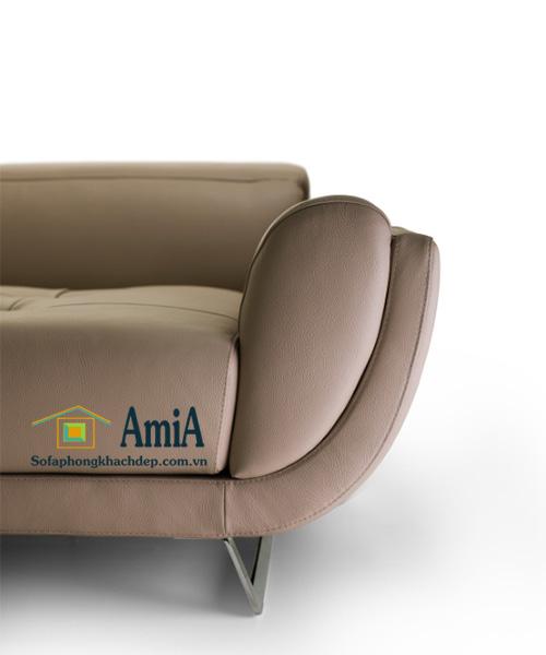 Hình ảnh chi tiết sofa da phòng khách đẹp với thiết kế hiện đại