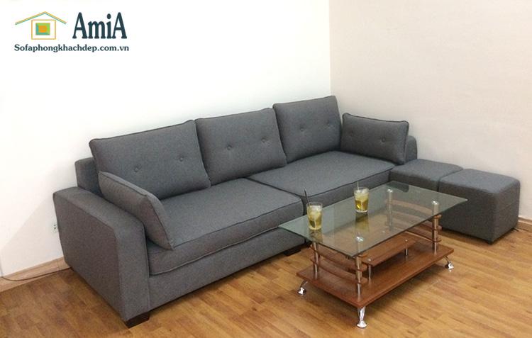 Hình ảnh mẫu sofa văng đẹp chụp thực tế tại nhà khách