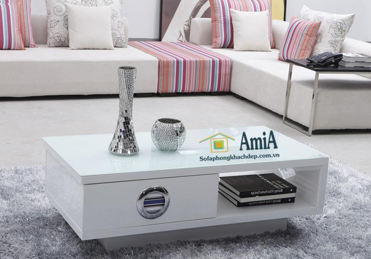 Hình ảnh bàn trà đẹp thiết kế hiện đại cho không gian phòng khách hiện đại