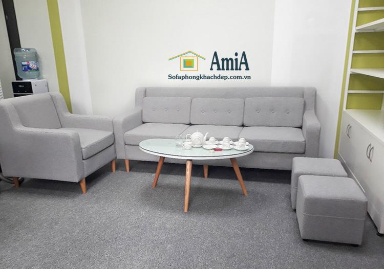 Hình ảnh Mẫu bàn trà sofa đẹp hiện đại kết hợp cùng ghế sofa văng đẹp