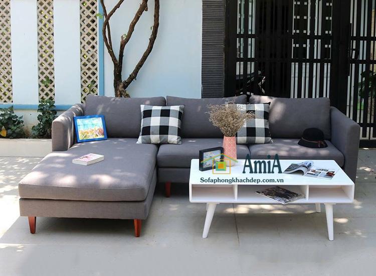 Hình ảnh Mẫu sofa nỉ đẹp giá rẻ cho phòng khách tại Hà Nội