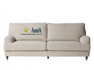 Hình ảnh Sofa nhỏ mini đẹp dạng văng nỉ 2 chỗ cho nhà nhỏ, nhà chung cư