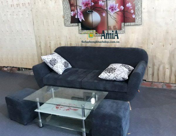 Hình ảnh Ghế sofa nhỏ mini văng đẹp cho không gian nhỏ xinh xắn