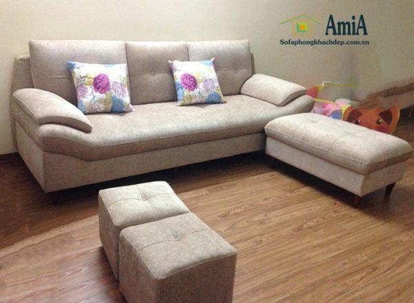 Hình ảnh Sofa văng da đẹp phòng khách thiết kế hiện đại mang đến vẻ đẹp hoàn hảo cho căn phòng