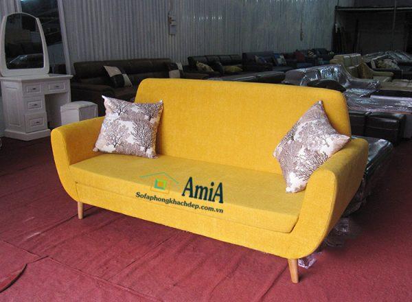 Hình ảnh Sofa văng đẹp nhỏ mini kê phòng khách nhỏ, nhà nhỏ, nhà chung cư