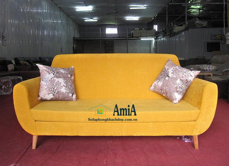 Hình ảnh Sofa văng nhỏ mini đẹp hiện đại cho phòng khách chung cư, nhà phố nhỏ