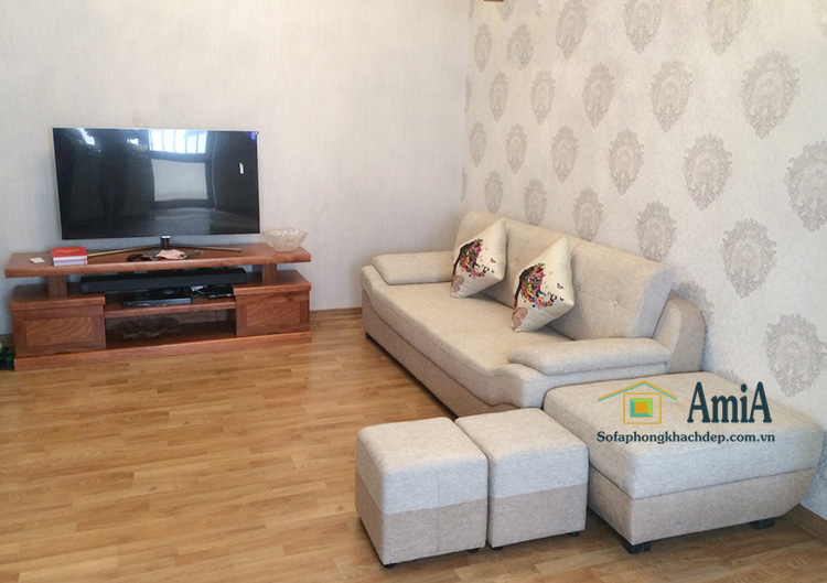 Hình ảnh Ghế sofa văng nỉ đẹp 099 bán chạy và sử dụng phổ biến