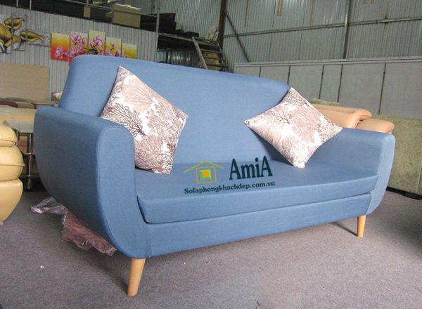 Hình ảnh Ghế sofa văng nỉ đẹp kích thước nhỏ cho không gian nhỏ xinh