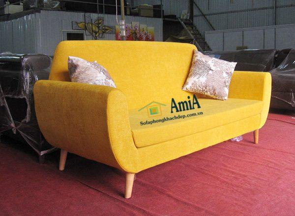 Hình ảnh Sofa văng nỉ phòng khách kích thước nhỏ cho nhà nhỏ, chung cư nhỏ mini