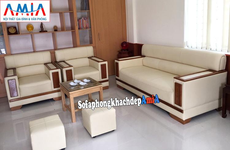 Hình ảnh Bộ ghế sofa phòng khách, phòng làm việc đẹp hiện đại