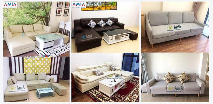 Hình ảnh Các mẫu ghế sofa làm theo yêu cầu tại Tổng kho Nội thất AmiA
