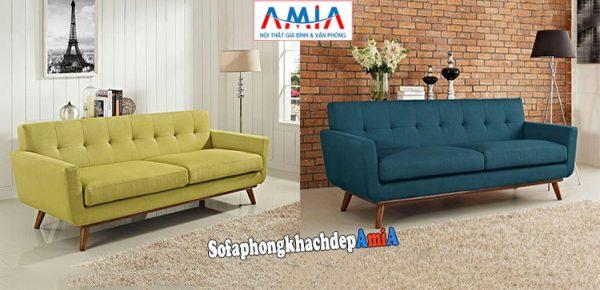 Hình ảnh Các mẫu ghế sofa văng nỉ đẹp hiện đại và sang trọng