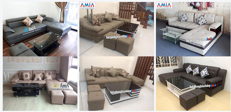 Hình ảnh các mẫu sofa giá bình dân tại Nội thất AmiA