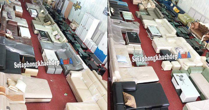 Hình ảnh địa chỉ mua sofa đẹp - Nhiều - Giá rẻ khắp Hà Nội