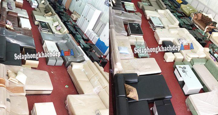 Hình ảnh Địa chỉ mua sofa uy tín tại Hà Nội - Tổng kho Nội thất AmiA cơ sở 1