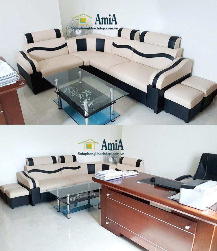 Hình ảnh Ghế sofa giá dưới 5 triệu cho phòng làm việc giám đốc, phòng khách công ty