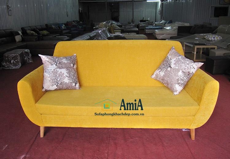 Hình ảnh Mẫu ghế sofa văng đẹp mini cho phòng khách nhỏ, nhà nhỏ