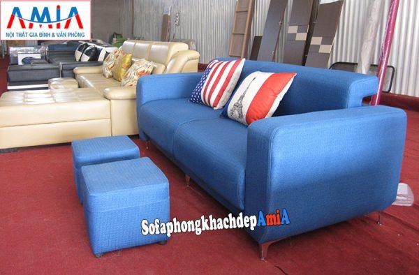 Hình ảnh Ghế sofa văng nhỏ xinh cho nhà chung cư, nhà nhỏ đẹp hiện đại