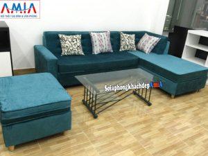 Hình ảnh Sofa nỉ phòng khách đẹp hiện đại tại Hà Nội