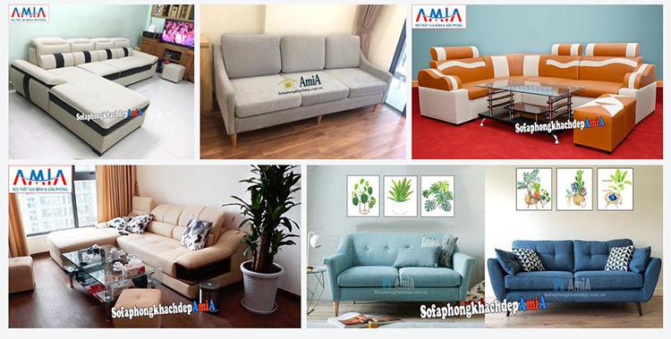 Hình ảnh Mua sofa ở đâu Hà Nội đẹp hiện đại mà giá cả lại phải chăng - Tổng kho Nội thất AmiA