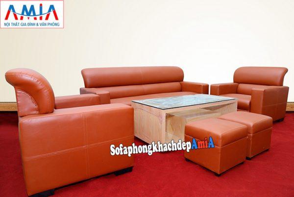 Hình ảnh Sofa phòng giám đốc hiện đại và sang trọng với gam màu độc đáo