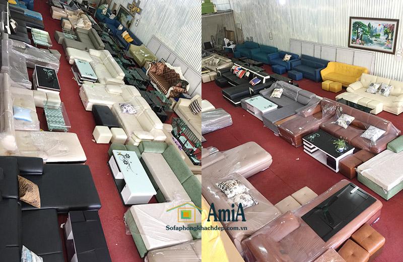 Hình ảnh tổng kho sofa phòng khách đẹp giá rẻ AmiA khu vực Thanh Xuân