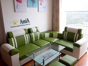 Hình ảnh Sofa phòng khách giá rẻ cho nhà chung cư, chung cư nhỏ mini